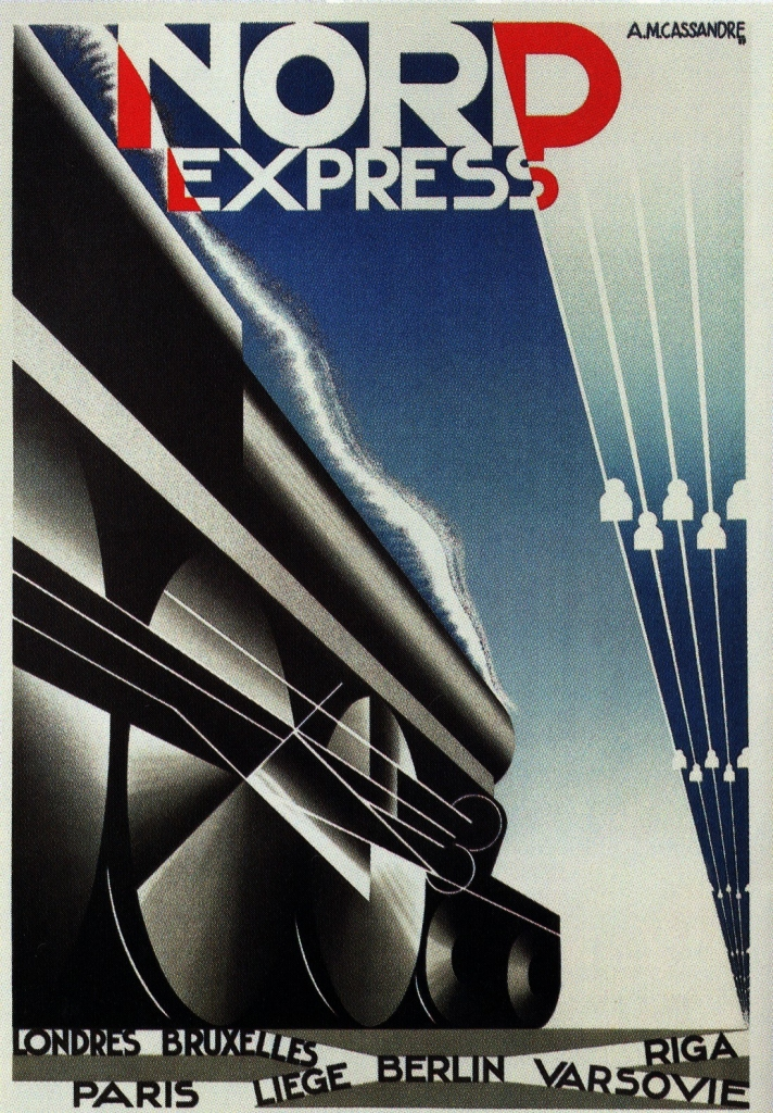 nord-express-by-adolphe-mouron-cassandre-1927
